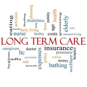 word cloud, long term care bismarck nd