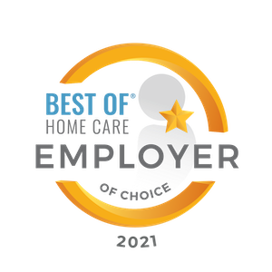2021 Best Of Home Care Employer of Choice Award