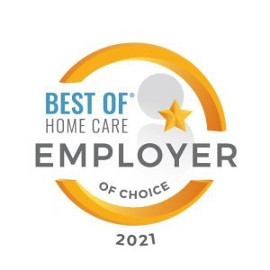 Award for Employer of Choice 2021
